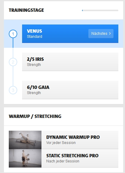 Freeletics Week 8
