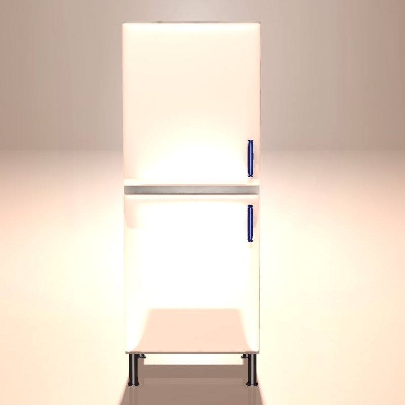 Küche 2, Teil 3, Kühlschrank