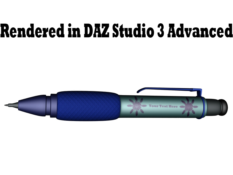 Stift1, gerendert in DAZ Studio 3 Advanced